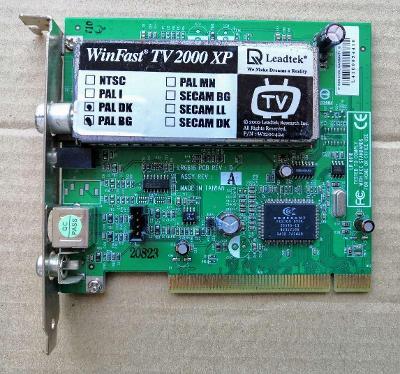RETRO Televizní karta - PCI verze