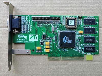 ATI Technologies 3D RAGE IIC - 8MB - AGP