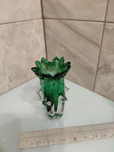 Stara váza sklo