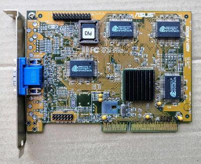 Pěkná grafika - nVIDIA RIVA 128 - 4MB - AGP