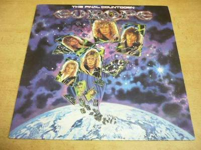 LP EUROPE / The Final Countdown (Supraphon 1988)