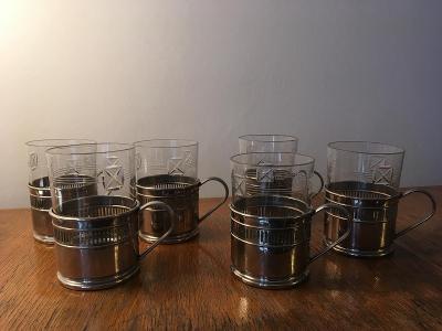 čajové skleničky