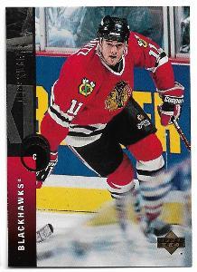 1994-95 - Upper Deck - Jeff Shantz - Chicago Blackhawks