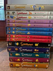 The Simpsons DVD (sběratelské edice 1. -  10. série)