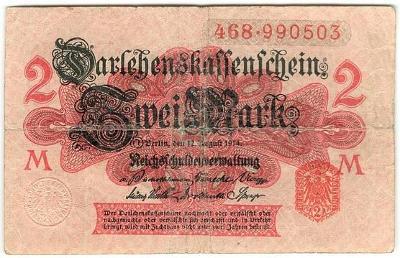 2 Mark 1914, série 468 - Německo