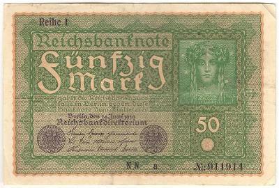 50 Mark 1919, série NN - Německo