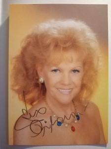 Autogram ... Eva PILAROVÁ ...
