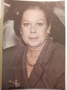 Autogram Yvonne Přenosilová  ...