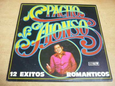 LP PACHO ALONSO / 12 Exitos Romanticos (Areito Habana Cuba)
