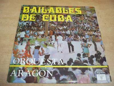 LP Bailables de CUBA (Areito Habana Cuba)