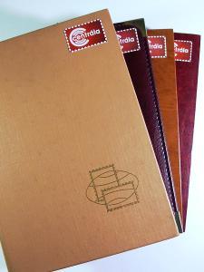 4144 Sbírka známek SVĚT tisíce známek +4 velmi hezké zásobníky A4