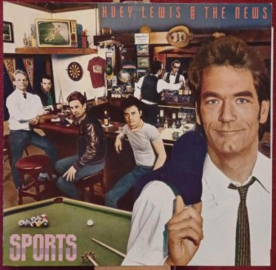 Huey Lewis And The News – Sports (LP 1983 Germany)