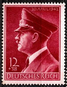 Deutsches Reich - ADOLF HITLER - Mi. 772 **