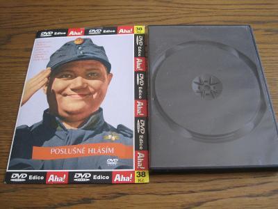 DVD - Poslušně hlásím