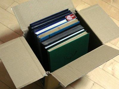 4101 Sbírka známek ANGLIE nezpracované, velké množství známek