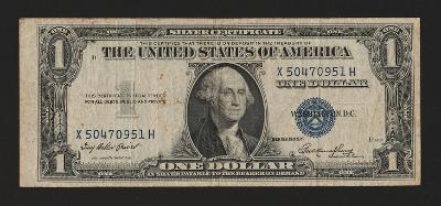 USA - 1 dollar,1935 - stav 3