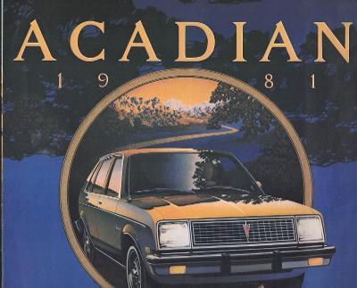 Pontiac Acadian 1981
