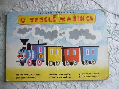 Staré leporelo - O veselé mašince - il. Zd.Miler - vydání 1993