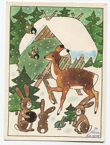 Alena LADOVÁ - Zvířátka v lese slaví vánoce, PRESSFOTO