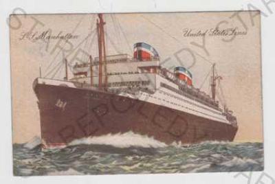 Vojenství, námořnictvo, loď, L.L. Manhattan, Unite