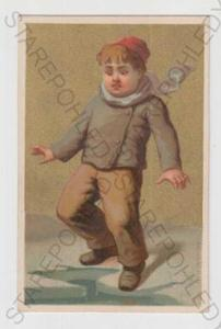 Děti - výtvarno, dítě, čepice, led, kra, kolorovan