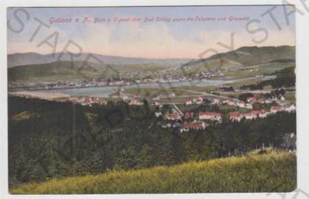 Jablonec nad Nisou (Gablonz a. N), celkový pohled,