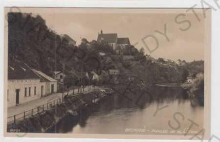 Bechyně (Tábor), řeka, částečný záběr města, Bromo