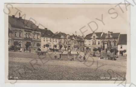 Votice (Benešov), náměstí, automobil, Bromografia