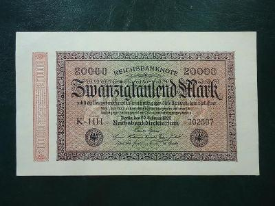20 000 Mark 1923 UNC