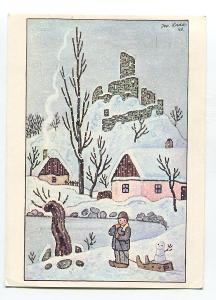 Josef LADA - Vánoce, Nový rok - ODEON 557-1