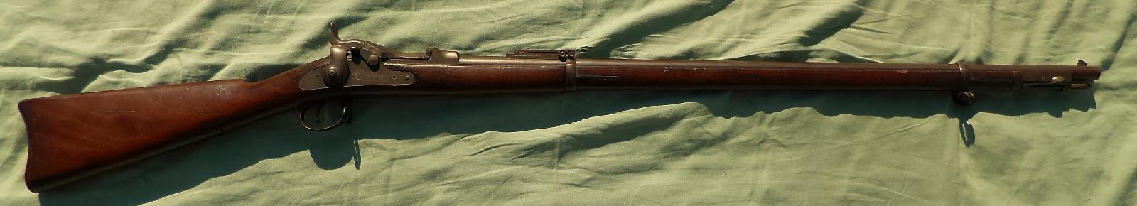 Americká pěchotní puška Springfield Trapdoor M1888 v pěkném stavu