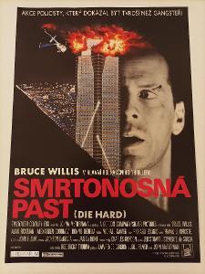 Smrtonosná past - Bruce Willis - plakát (A3)