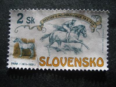 Slovensko motivy fauna koně od korunky