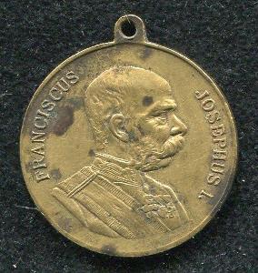 ● František Josef ● staré vyznamenání ● Český Těšín ● Vojsko 1906 ●