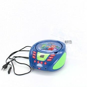 Rádio s CD přehrávačem Lexibook PJMasks