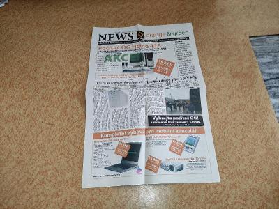 Orange and Green News - říjen 2003