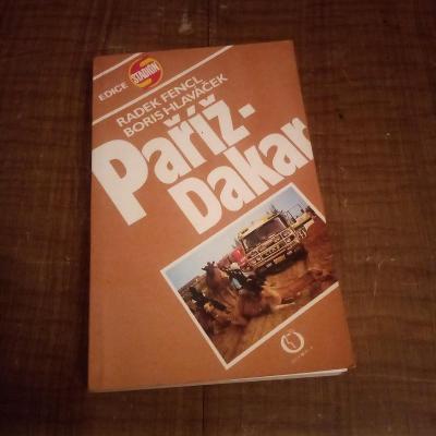 Paříž - Dakar, R. Fencl a B. Hlaváček / 1989