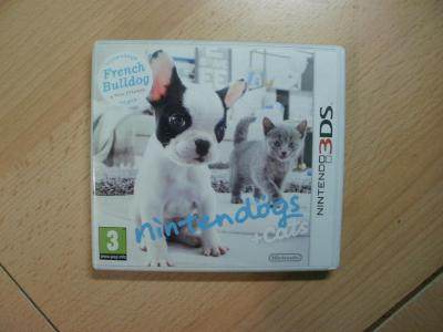 Hra na Nintendo 3DS + 2DS - Nintendogs + Cats - French Bulldog