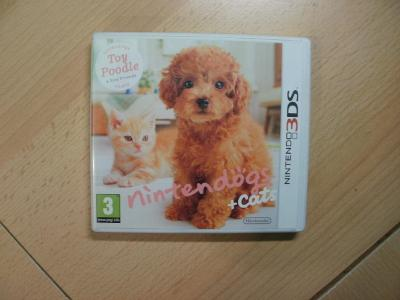 Hra na Nintendo 3DS + 2DS - Nintendogs + Cats - Toy Poodle