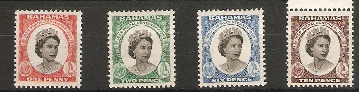 britské Bahamy 1959 * Alžbeta II komplet mi. 179-182