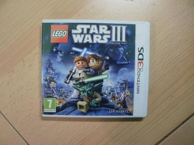 Hra na Nintendo 3DS + 2DS - Lego - Star Wars III - The Clone Wars