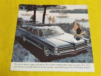 --- Pontiac Catalina / Bonneville Safari (1965) ------------------ USA