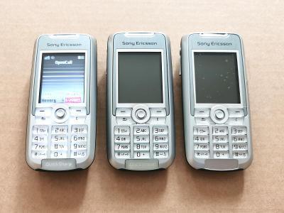 3x mobilní telefon Sony Ericsson K700i