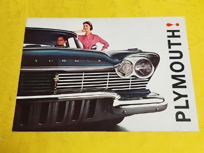 --- Plymouth 1960 ------------------------------------------------ USA