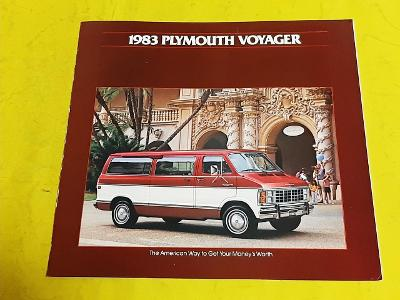 --- Plymouth Voyager (1983) -------------------------------------- USA