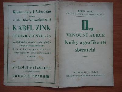 Karel Zink - aukční katalog II. Vánoční aukce - 20.XII.1925 , Beránek