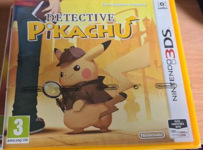 Nintendo 3DS Pokémon Detective Pikachu
