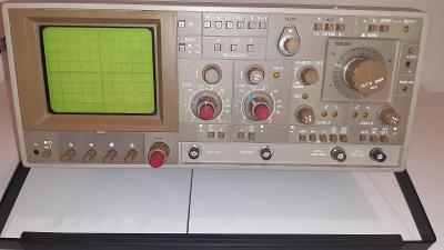 Dvoukanálový osciloskop Tesla BM 584