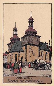 NÁCHOD - KOSTEL SV.VAVŘINCE - 236-SQ31