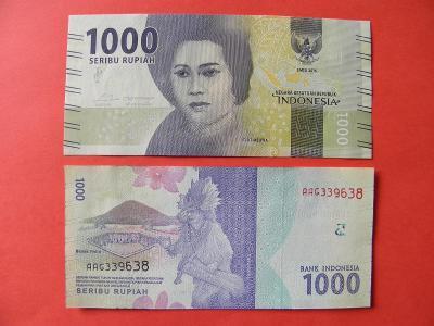 1.000 Rupiah 2016 Indonesia - P154 - UNC -  /H153/